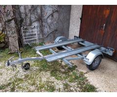 Remorque moto 2 places PTAC 600kg