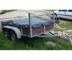 Location Remorque double essieu 750kg permis b