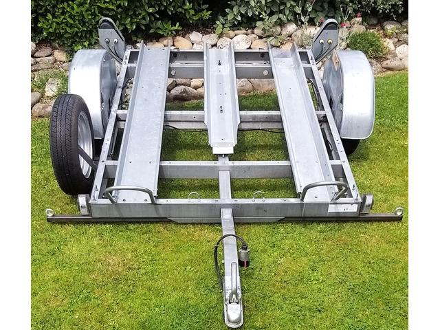 Remorque moto 1 ou 2 rails